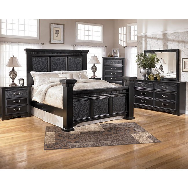cavallino mansion bedroom set signature design by ashley