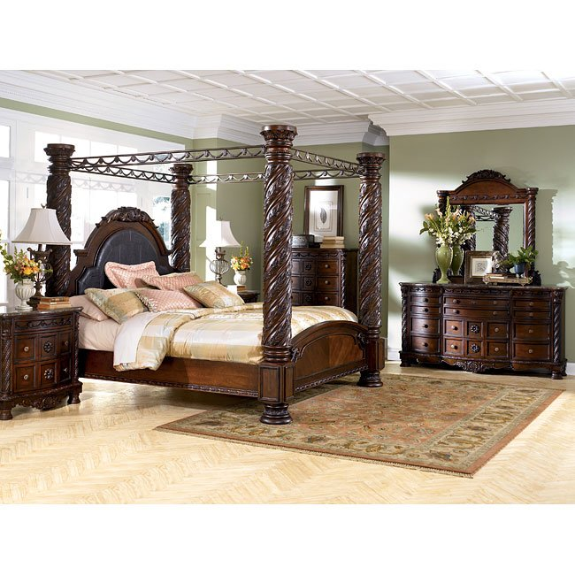 North Shore Canopy Bedroom Set Millennium Furniturepick
