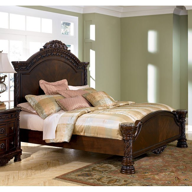 North Shore Panel Bed Millennium Furniturepick