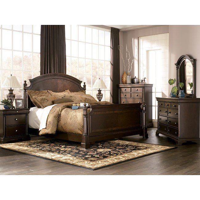 Leighton Poster Bedroom Set Millennium Furniturepick