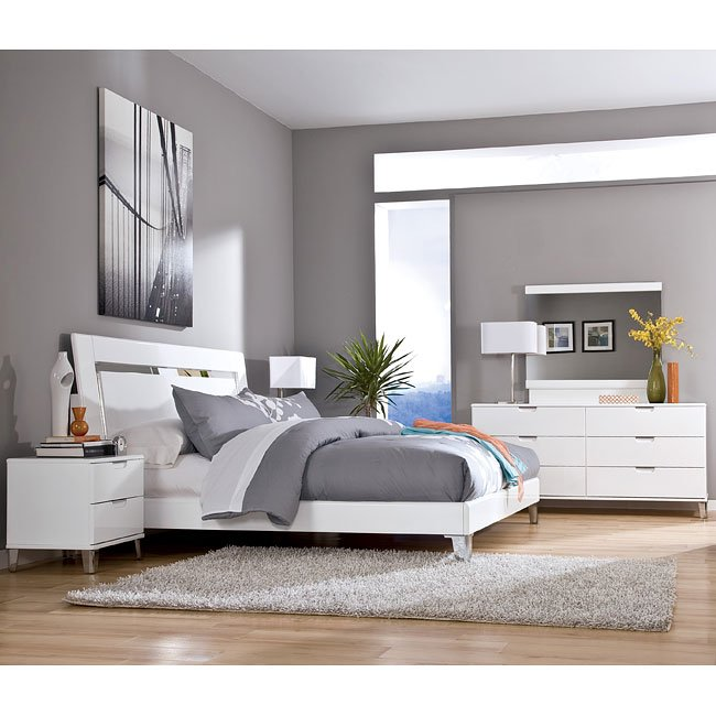 Ashley Furniture Bedroom Set White 650 x 650