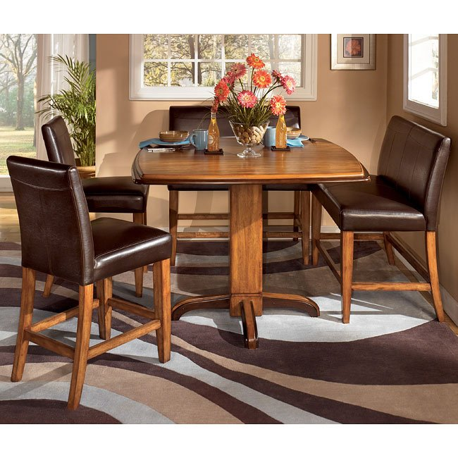 Ashley Home Furnature: Urbandale Counter Height Dinette With Double Stools