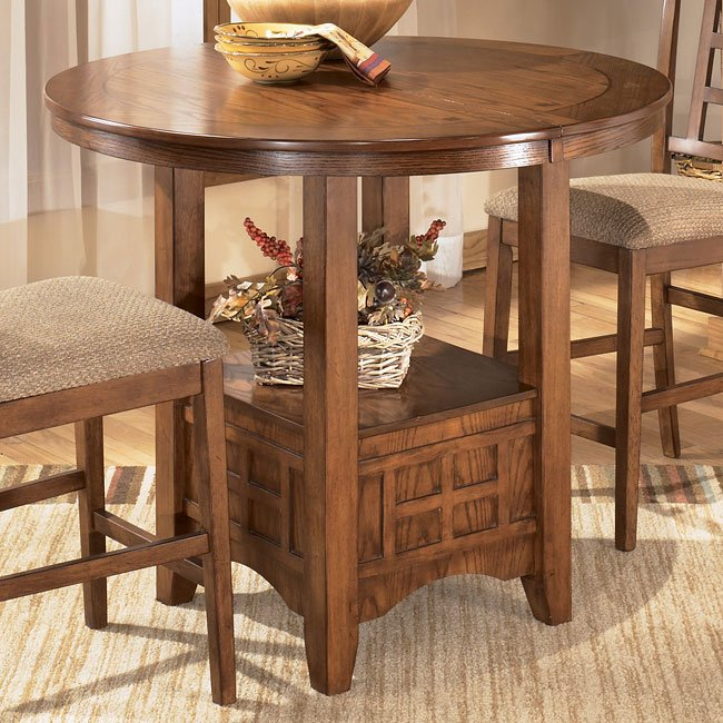 sig D319 42 counter table 1 Ashley Furniture Cross Island Coffee Table