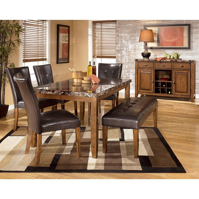 Ashley Furniture Discount Store: Lacey Dining Room Set With Bench Signature Design By
