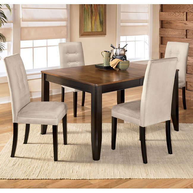 Alonzo Dining Room Set with Newbold Stone Chairs Signature  : sig D367 35 D351 02 A set 1 from www.furniturepick.com size 650 x 650 jpeg 91kB