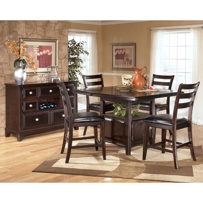 ridgley counter height dining room set signature design by