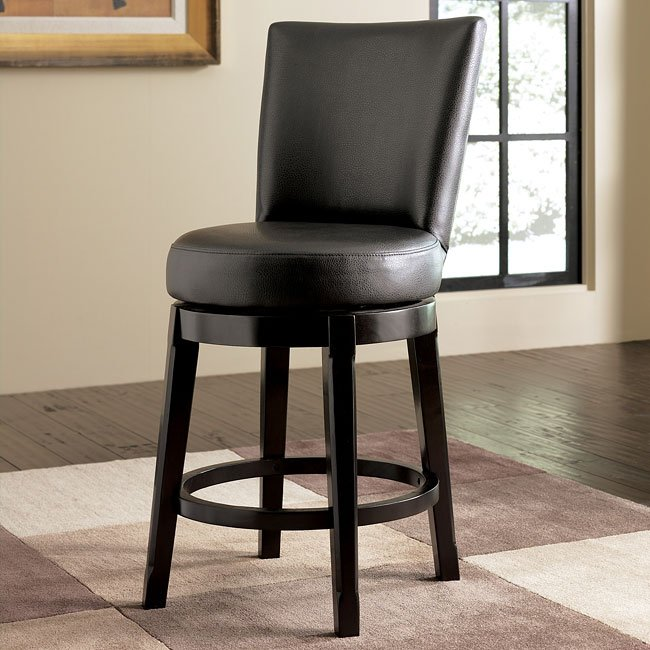 Emory 24 Inch Bar Stool W Swivel Signature Design By
