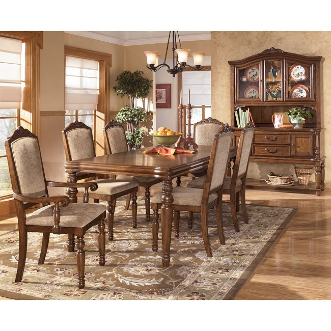 Traditional Dining Room Set: San Martin Formal Dining Room Set Signature Design By