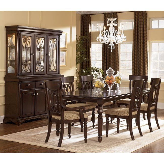 Traditional Formal Dining Room Sets: Leighton Formal Dining Room Set Signature Design By Ashley