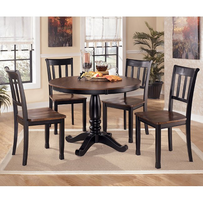 Round Dining Room Sets: Owingsville Round Dining Room Set Signature Design By