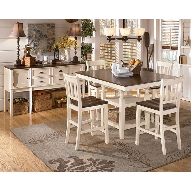 Whitesburg Counter Height Dinette Signature Design By