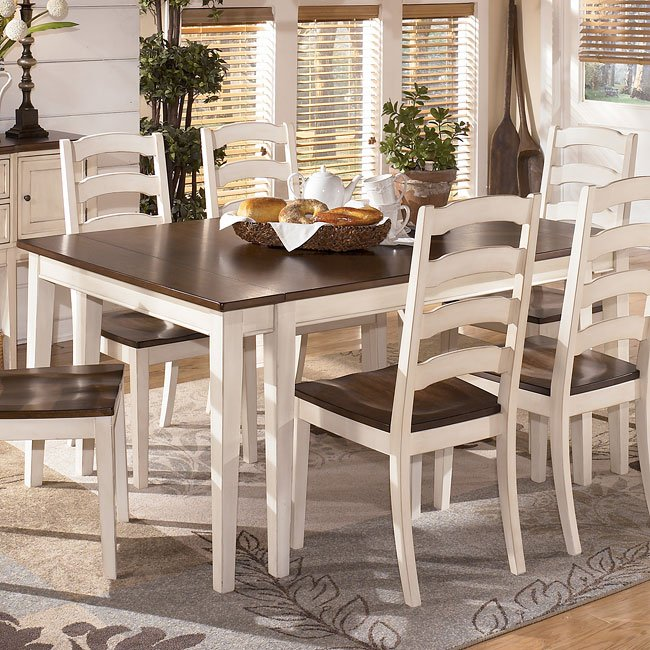 Whitesburg Rectangular Extension Dining Table Signature
