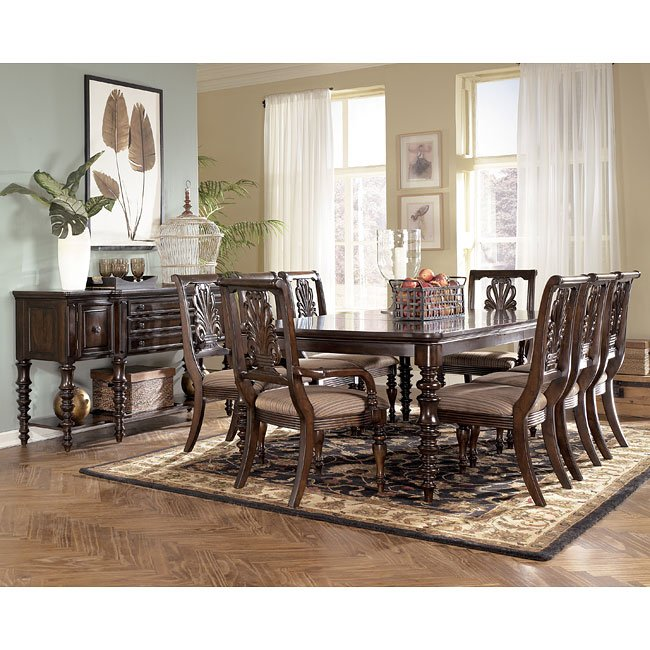 Formal Dining Rooms Sets: Key Town Formal Dining Room Set Signature Design By Ashley
