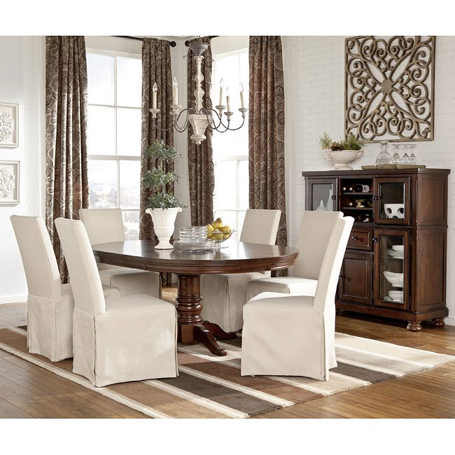 Porter Dining Room Set W Burkesville Chairs Signature Design By