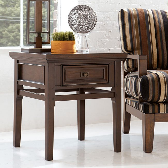 Kenwood Loft Square End Table Signature Design By Ashley